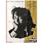 ビートルズ(THE BEATLES) ポスター 洋楽 ジュリアン・レノン Julian Lennon ヴァロッテ Valotte ジョン・レノンの息子 1984頃