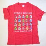 チームしゃちほこ(しゃちほこ) しゃちサマ2015~JK最後の夏休み~ Tシャツ(レッド)